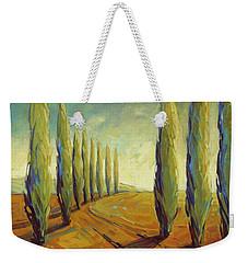 Where Evening Begins 1 Weekender Tote Bag