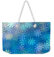 Weekender Tote Bag featuring the photograph Where Have All The Flowers Gone by Dazzle Zazz