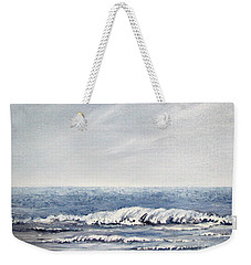 Weekender Tote Bag featuring the painting Where I Want To Be by Todd Blanchard