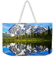 Weekender Tote Bag featuring the photograph Where Is Up And Where Is Down by Eti Reid