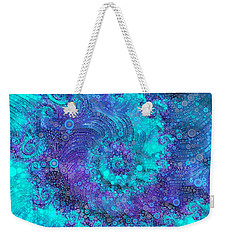 Where Mermaids Play Weekender Tote Bag by Susan Maxwell Schmidt