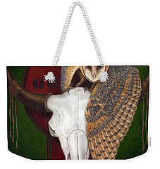 Where Once They Roamed Weekender Tote Bag by Pat Erickson