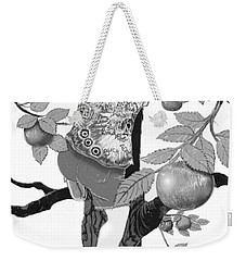 Weekender Tote Bag featuring the digital art Where The Best Apples Are by Carol Jacobs