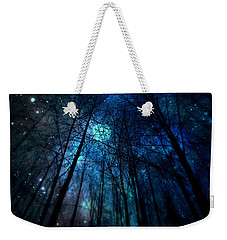 Where The Faeries Meet Weekender Tote Bag by Micki Findlay