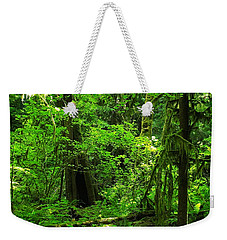 Where The Forest People Live Revised Weekender Tote Bag