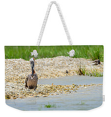 Weekender Tote Bag featuring the photograph Where The Heart Is by Steven Santamour