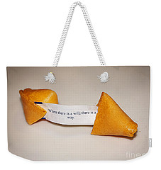 Where There Is A Way Weekender Tote Bag