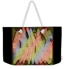 Which Way Out Weekender Tote Bag by Paula Ayers