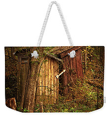 Which Way To The Outhouse? Weekender Tote Bag