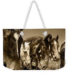 Whimsical Stallions Weekender Tote Bag
