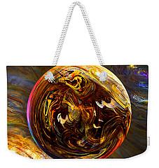 Whirling Wood  Weekender Tote Bag