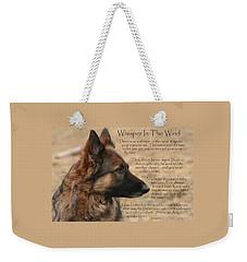 Whisper In The Wind Weekender Tote Bag