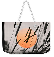 Weekender Tote Bag featuring the photograph Whispers by Charlotte Schafer