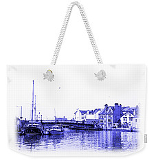 Weekender Tote Bag featuring the photograph Whitby Harbor by Jane McIlroy