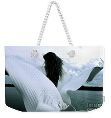 White Angel Weekender Tote Bag