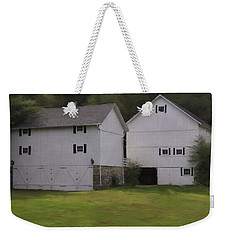 White Barns Weekender Tote Bag