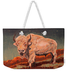 White Buffalo Nocturne Weekender Tote Bag