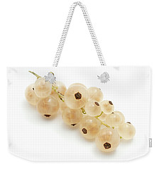White Currant  Weekender Tote Bag by Fabrizio Troiani