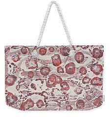 White Weekender Tote Bag by Darice Machel McGuire