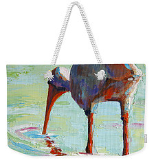White Ibis  Everglades Bird  Weekender Tote Bag