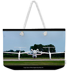 White Knight Weekender Tote Bag by Adam Romanowicz