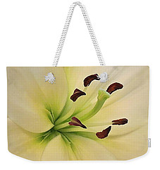 White Lily Pp-6 Weekender Tote Bag