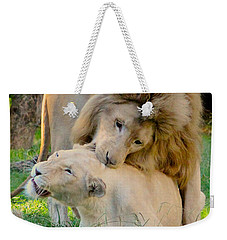 How About A Nibble My Love Weekender Tote Bag
