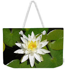 White Lotus 1 Weekender Tote Bag