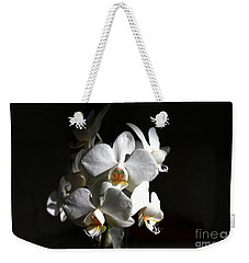 White Orchids Weekender Tote Bag