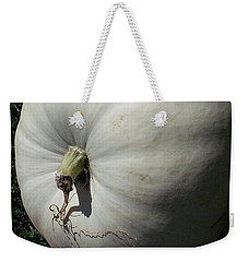 White Pumpkin Weekender Tote Bag