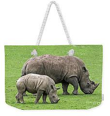 White Rhino 8 Weekender Tote Bag