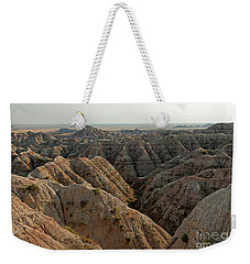 White River Valley Overlook Badlands National Park Weekender Tote Bag