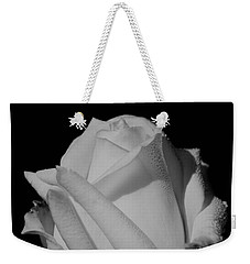 White Rose Weekender Tote Bag by Michelle Joseph-Long