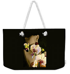 White Shoulders Weekender Tote Bag