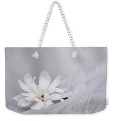White Weekender Tote Bag