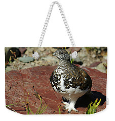 White-tailed Ptarmigan Weekender Tote Bag