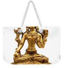 White Tara Weekender Tote Bag by Fabrizio Troiani