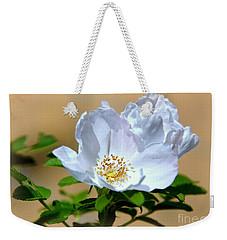 White Tea Rose Weekender Tote Bag