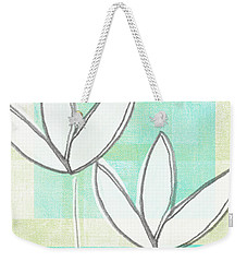White Tulips Weekender Tote Bag