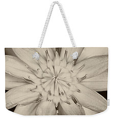 Lotus Weekender Tote Bag by Ulrich Schade