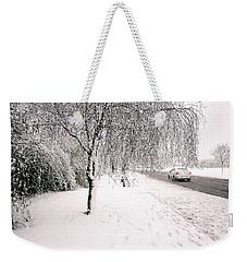 White World Weekender Tote Bag