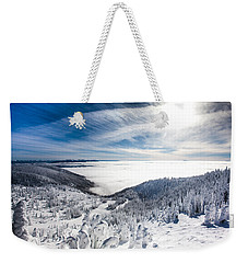 Whitefish Inversion Weekender Tote Bag
