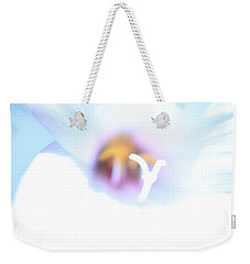 Weekender Tote Bag featuring the photograph Whiteout by Greg Allore