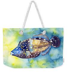 Whitespot Filefish Weekender Tote Bag