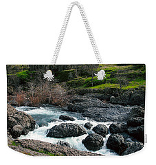 Whitewater At Bear Hole Weekender Tote Bag