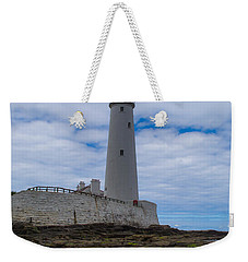 Whitley Bay St Mary's Lighthouse Weekender Tote Bag