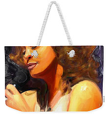 Whitney Gone Too Soon Weekender Tote Bag