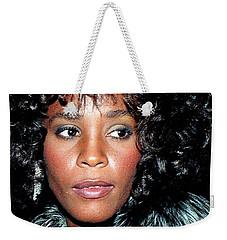 Whitney Houston 1989 Weekender Tote Bag