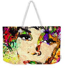 Whitney Houston Weekender Tote Bag