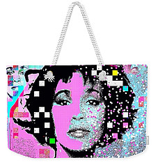 Whitney Houston Sing For Me Again 2 Weekender Tote Bag